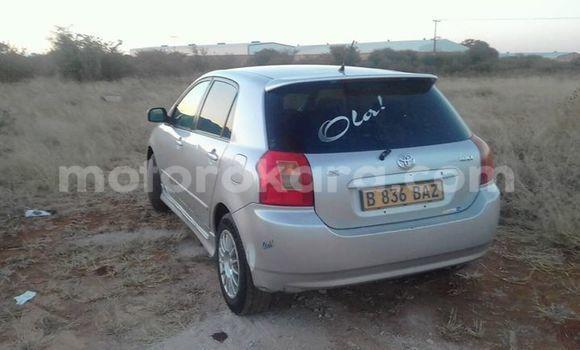 Buy Toyota Runx Silver Car in Broadhurst in Gaborone