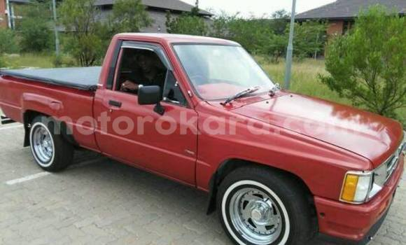 Buy Toyota Hilux Red Car in Broadhurst in Gaborone