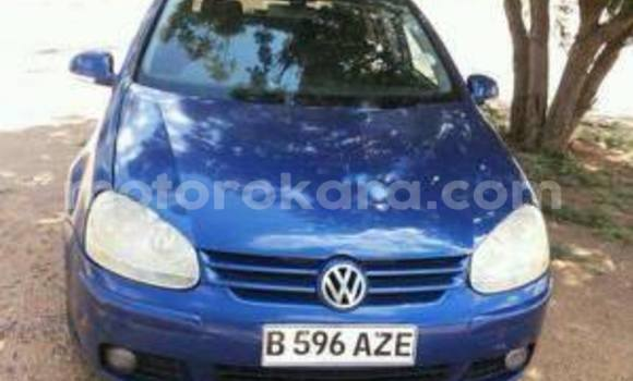Buy Volkswagen Golf Blue Car in Broadhurst in Gaborone