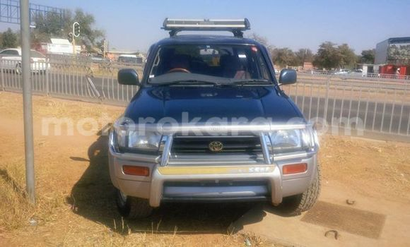 Buy Toyota Hilux Surf Black Car in Broadhurst in Gaborone